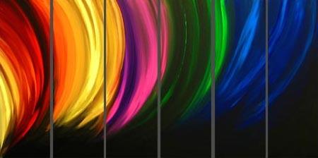 Shades of a rainbow