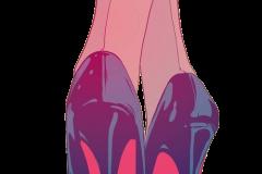 Heels giveth power